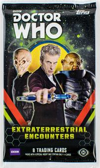 Doctor Who: Extraterrestrial Encounters Hobby Pack (Topps 2016)