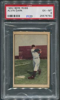 1952 Berk Ross Baseball #11 Alvin Dark PSA 6 (EX-MT)