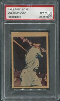 1952 Berk Ross Baseball #13 Joe DiMaggio PSA 8 (NM-MT) (OC)