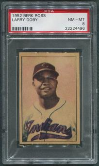 1952 Berk Ross Baseball #14 Larry Doby PSA 8 (NM-MT)