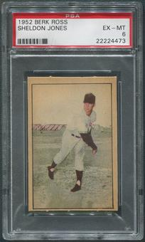 1952 Berk Ross Baseball #27 Sheldon Jones PSA 6 (EX-MT)