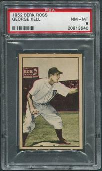 1952 Berk Ross Baseball #28 George Kell PSA 8 (NM-MT)