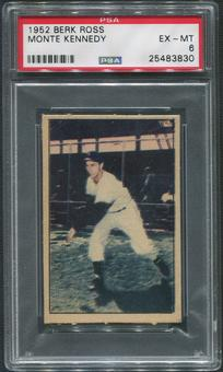 1952 Berk Ross Baseball #29 Monte Kennedy PSA 6 (EX-MT)