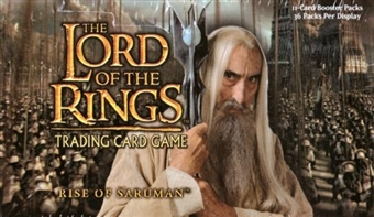 Decipher Lord of the Rings Rise of Saruman Booster Box