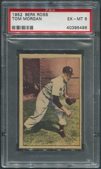 1952 Berk Ross Baseball #43 Tom Morgan PSA 6 (EX-MT)