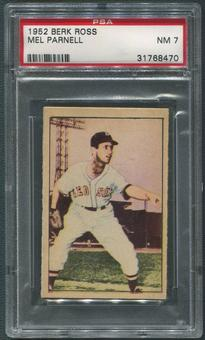 1952 Berk Ross Baseball #49 Mel Parnell PSA 7 (NM)