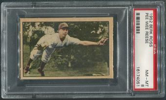 1952 Berk Ross Baseball #51 Pee Wee Reese PSA 8 (NM-MT)