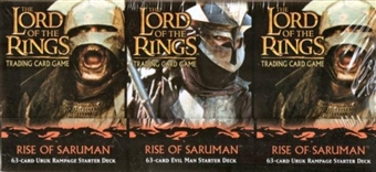 Decipher Lord of the Rings Rise of Saruman Starter Box