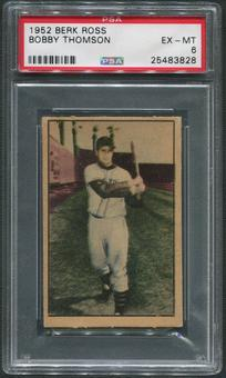 1952 Berk Ross Baseball #65 Bobby Thomson PSA 6 (EX-MT)