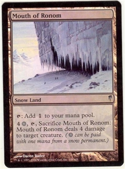 Magic the Gathering Coldsnap Single Mouth of Ronom Foil