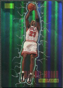 1997/98 SkyBox Premium #TL5 Michael Jordan Thunder and Lightning