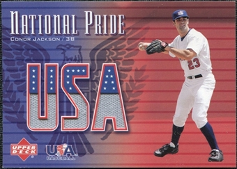 2003 Upper Deck National Pride Memorabilia #CJ Conor Jackson