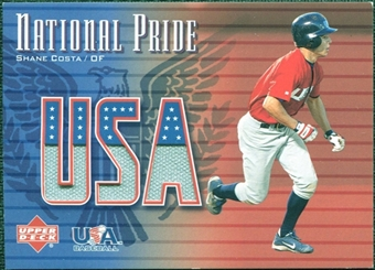 2003 Upper Deck National Pride Memorabilia #SC Shane Costa