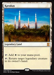 Magic the Gathering Eternal Masters Single Karakas NEAR MINT (NM)