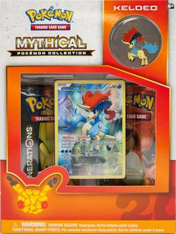 Pokemon: Mythical Collection Box (Keldeo)