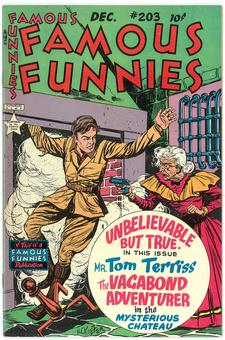 Famous Funnies #203  VF/NM-
