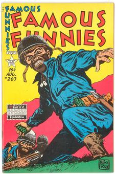 Famous Funnies #207  VF/NM-