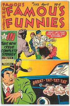 Famous Funnies #193  NM-