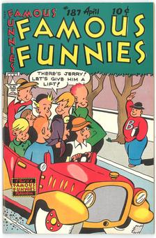 Famous Funnies #187  VF+