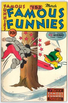 Famous Funnies #152  VF+