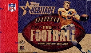 2002 Topps Heritage Football Hobby Box