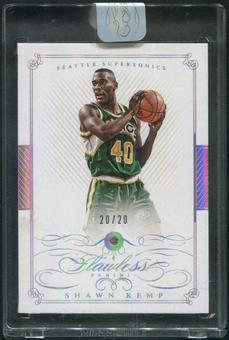 2014/15 Panini Flawless #97 Shawn Kemp Diamond #20/20