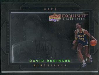 2011/12 Exquisite Collection #DDA David Robinson Dimensions Auto