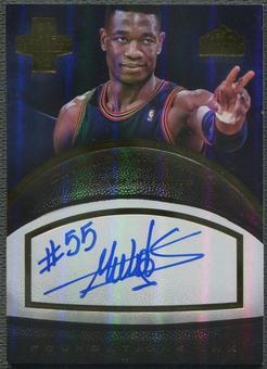 2013/14 Innovation #3 Dikembe Mutombo Foundations Ink Gold Auto #5/5