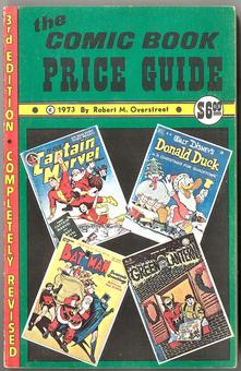 Overstreet Comic Book Price Guide #3  FN