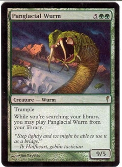 Magic the Gathering Coldsnap Single Panglacial Wurm Foil