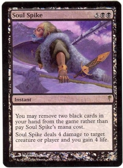 Magic the Gathering Coldsnap Single Soul Spike Foil