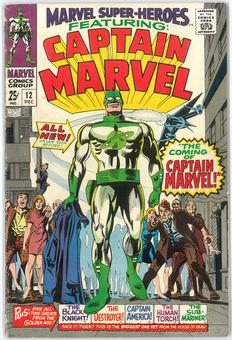 Marvel Super Heroes #12  VG+