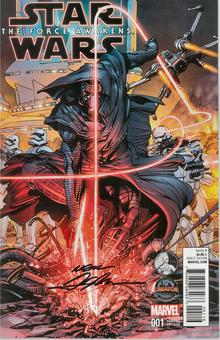 Star Wars: The Force Awakens Adaptation #1 Autographed Neal Adams Variant         EXTREMELY RARE!!!!