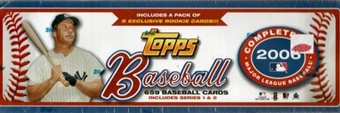 2006 Topps Factory Set Baseball Retail (Box)