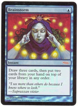 Magic the Gathering Promo Single Brainstorm Foil (FNM)