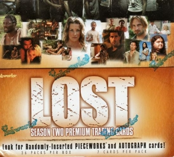 LOST Season Two Hobby Box (2006 InkWorks)