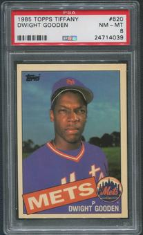 1985 Topps Tiffany Baseball #620 Dwight Gooden Rookie PSA 8 (NM-MT)