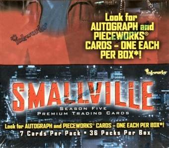 Smallville Season 5 Hobby Box (2006 InkWorks)