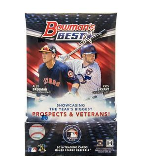 2016 Bowman's Best Baseball Hobby 8-Box Case - DACW Live 25 Spot Random Team Break #4