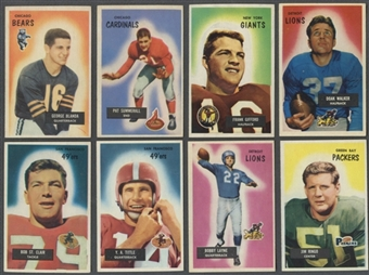 1955 Bowman Football Complete Set (EX)
