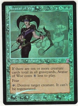 Magic the Gathering Time Spiral Single Avatar of Woe Foil