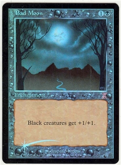 Magic the Gathering Time Spiral Single Bad Moon Foil