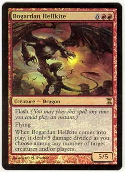 Magic the Gathering Time Spiral Single Bogardan Hellkite Foil