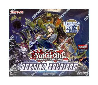 Yu-Gi-Oh Destiny Soldiers Booster Box
