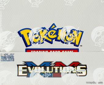 Pokemon XY Evolutions Theme Deck Box