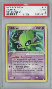 Pokemon POP Series 2 Celebi ex 17/17 Rare PSA 9