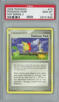 Pokemon POP Series 2 Pokemon Park 10/17 Rare PSA 10 GEM MINT