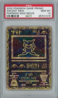 Pokemon 2000 Movie Ancient Mew Holo Rare PSA 10 GEM MINT
