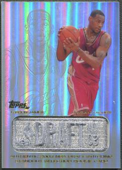 2003/04 Topps Jersey Edition #LJ LeBron James SS Rookie