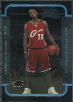 2003/04 Bowman Chrome #123 LeBron James Rookie
